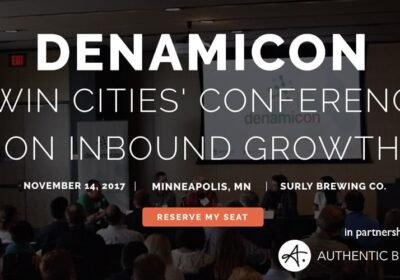 Denamicon: The Twin Cities' Conference On Inbound Growth