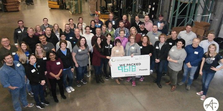 We packed nearly 10,000 pounds of food for Minnesota families