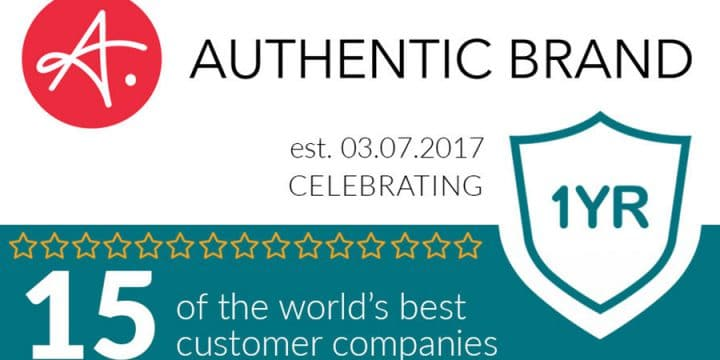 Celebrating Authentic Brand's 1-Year Bizversary!