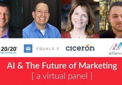 AI & The Future of Marketing: Four experts share their insight on artificial intelligence and its potential impact