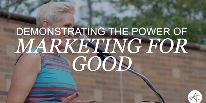 Marketing For Good: A Conversation with Amanda Brinkman