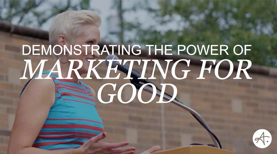 Marketing For Good: A Conversation with Amanda Brinkman