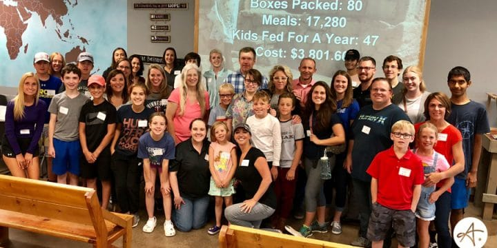 We fed 47 kids for a year!