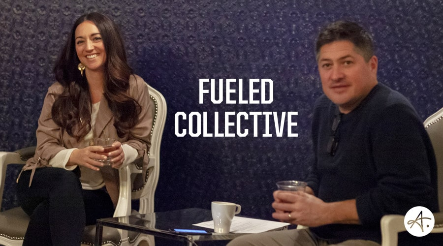 Jennifer Zick speaks at Fueled Collective event for entrepreneurs