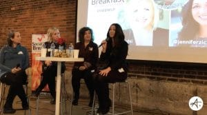 Jennifer Zick speaks at Social Media Breakfast Series, Minneapolis