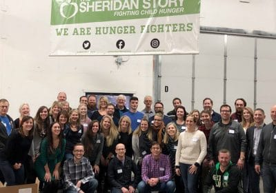 We helped prepare 1,650 bags of food for kids across the Twin Cities!