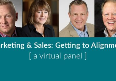 Marketing and Sales: Getting to Alignment