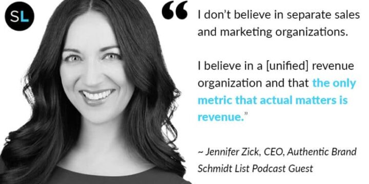 Jennifer Zick Makes Guest Appearance on The Schmidt List Podcast