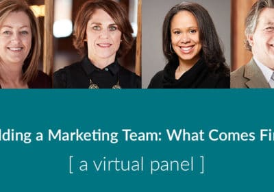 Building a Marketing Team: What Comes First