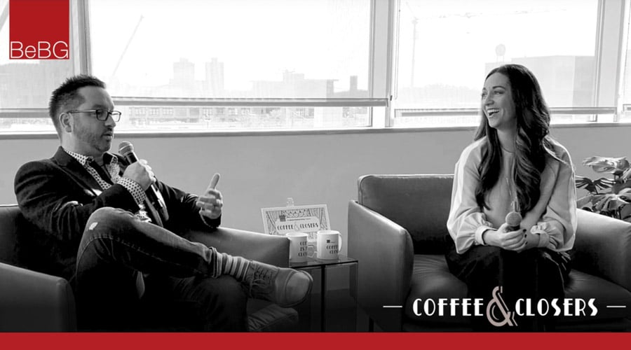Jennifer Zick joins Mickeli Bedore, founder and host of Coffee & Closers for live podcast conversation.