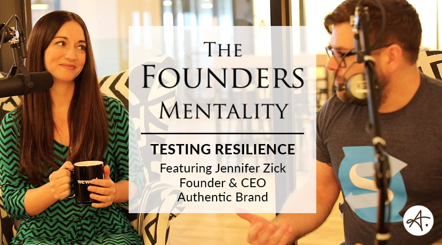 The Founders Mentality: Testing Resilience