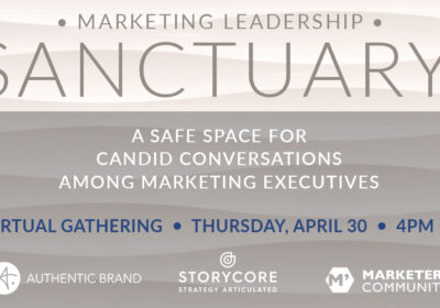 SANCTUARY provides safe space for candid marketing conversations