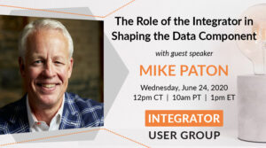 Mike Paton - Integrator User Group