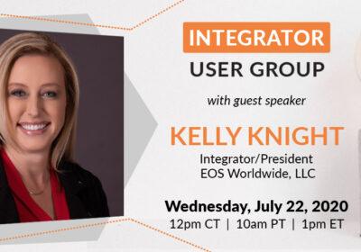 Integrator User Group gaining momentum and international engagement