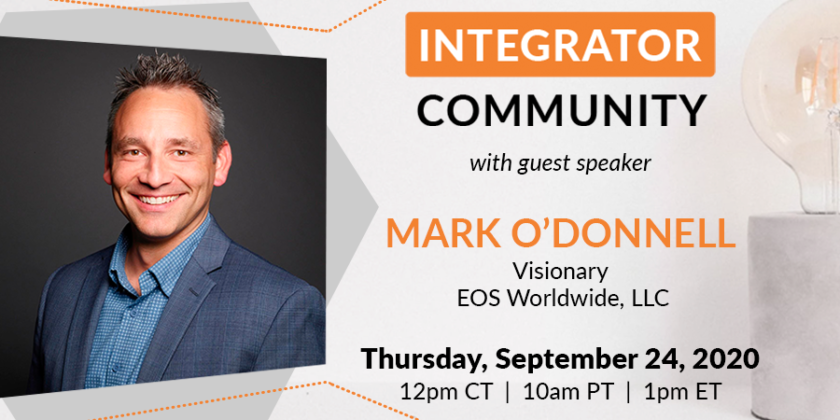 "Integrator Community is ready to live ""The EOS Life"""