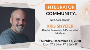 Kris Snyder Guest Speaker
