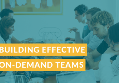 How to build an effective on-demand marketing team