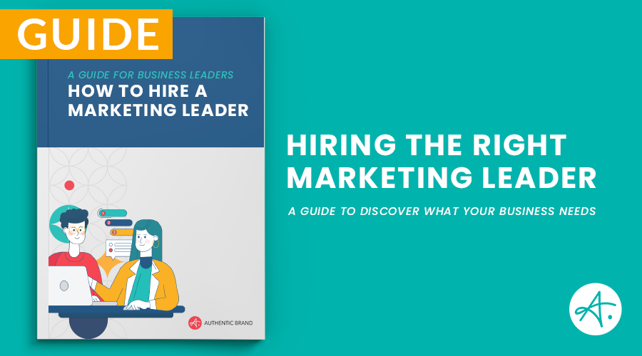 Hire a Marketing Leader