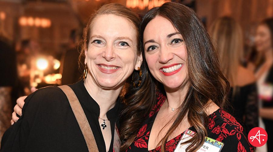 Meg Van Sloun and Jennifer Zick